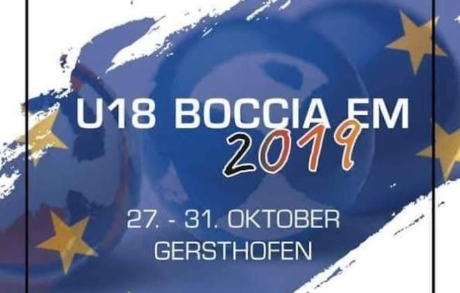 Чемпионат Европы по бочче-раффа среди юниоров до 18 лет.
