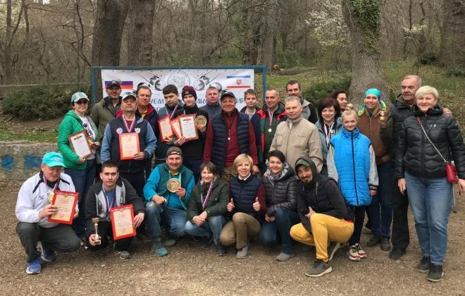 Первый турнир по петанку «Крымская весна»