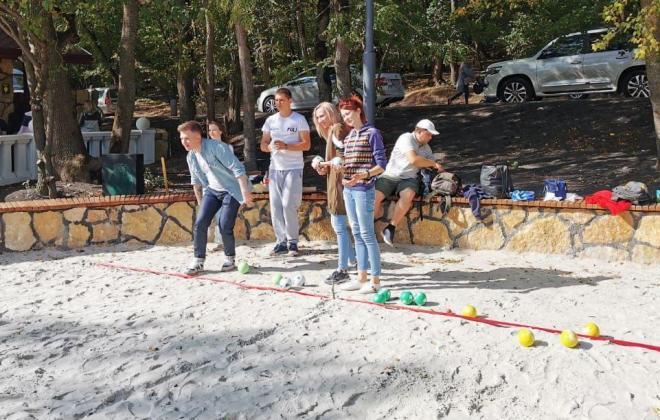 Турнир по пляжному бочче прошёл в Железноводске